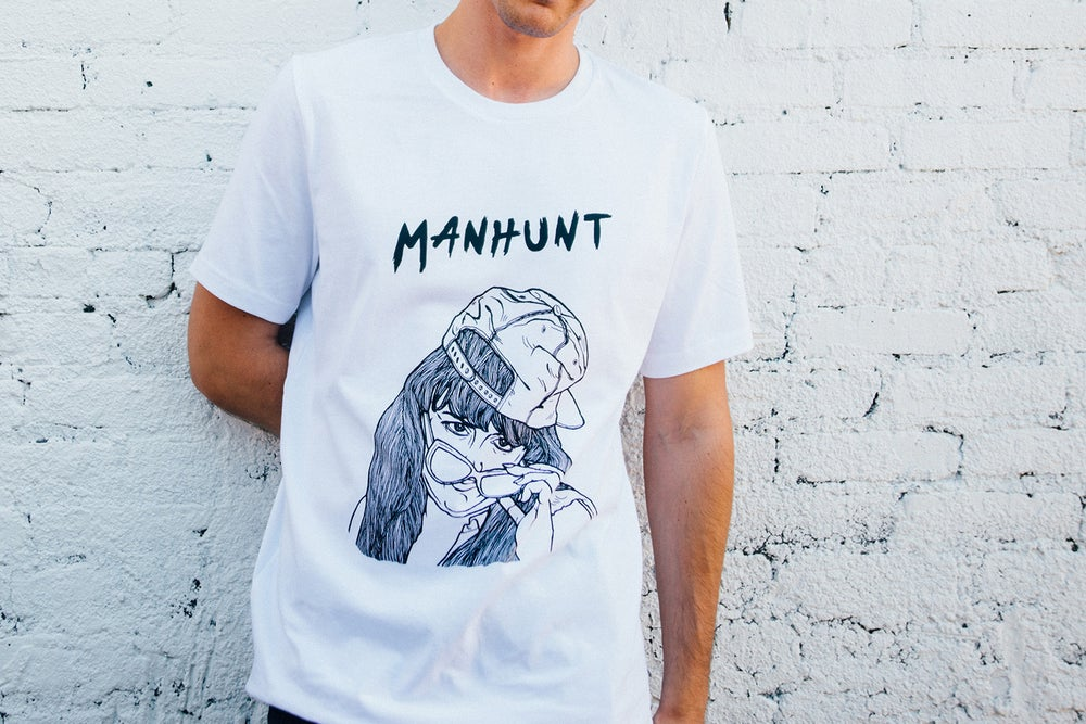 Image of MANHUNT Tee