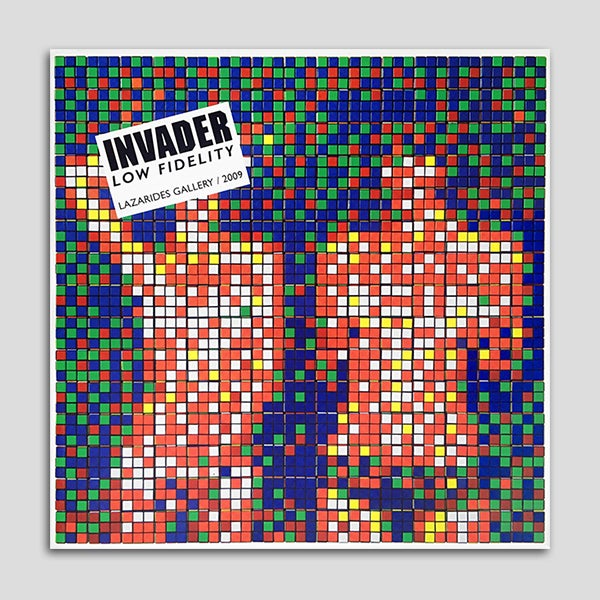 Image of Invader - Low Fidelity (2009)