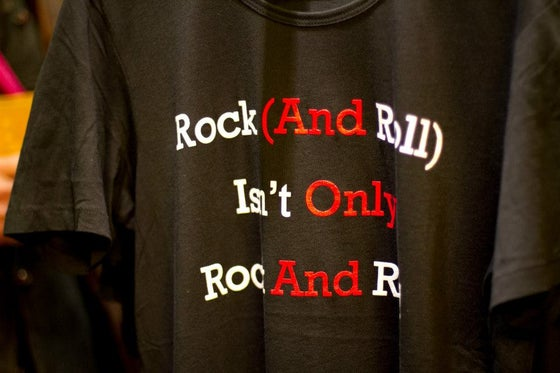Image of T'shirt Rock (And Roll) Isn't Only Rock And Roll