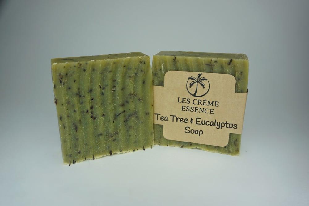 Image of Tea Tree & Eucalyptus Coconut Milk Soap