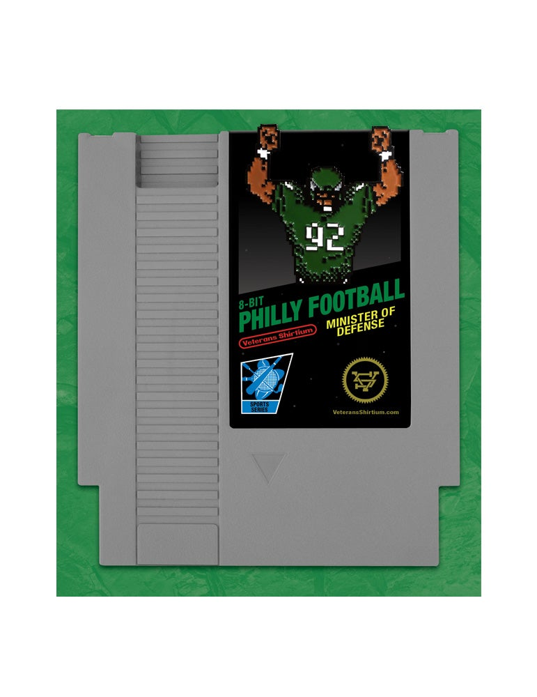 Image of 8-Bit Philly Football Enamel Pin