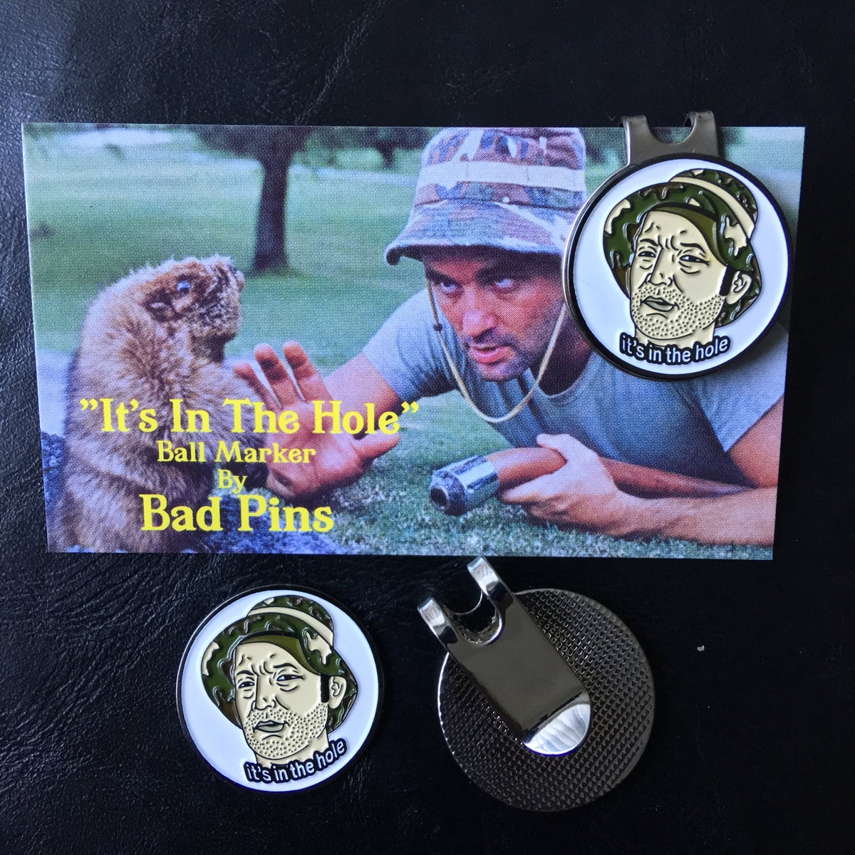 Image of 'Its In The Hole' Golf Ball Marker