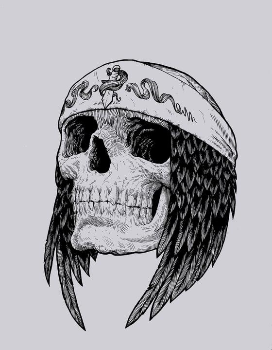Image of Raven Skull T-Shirt