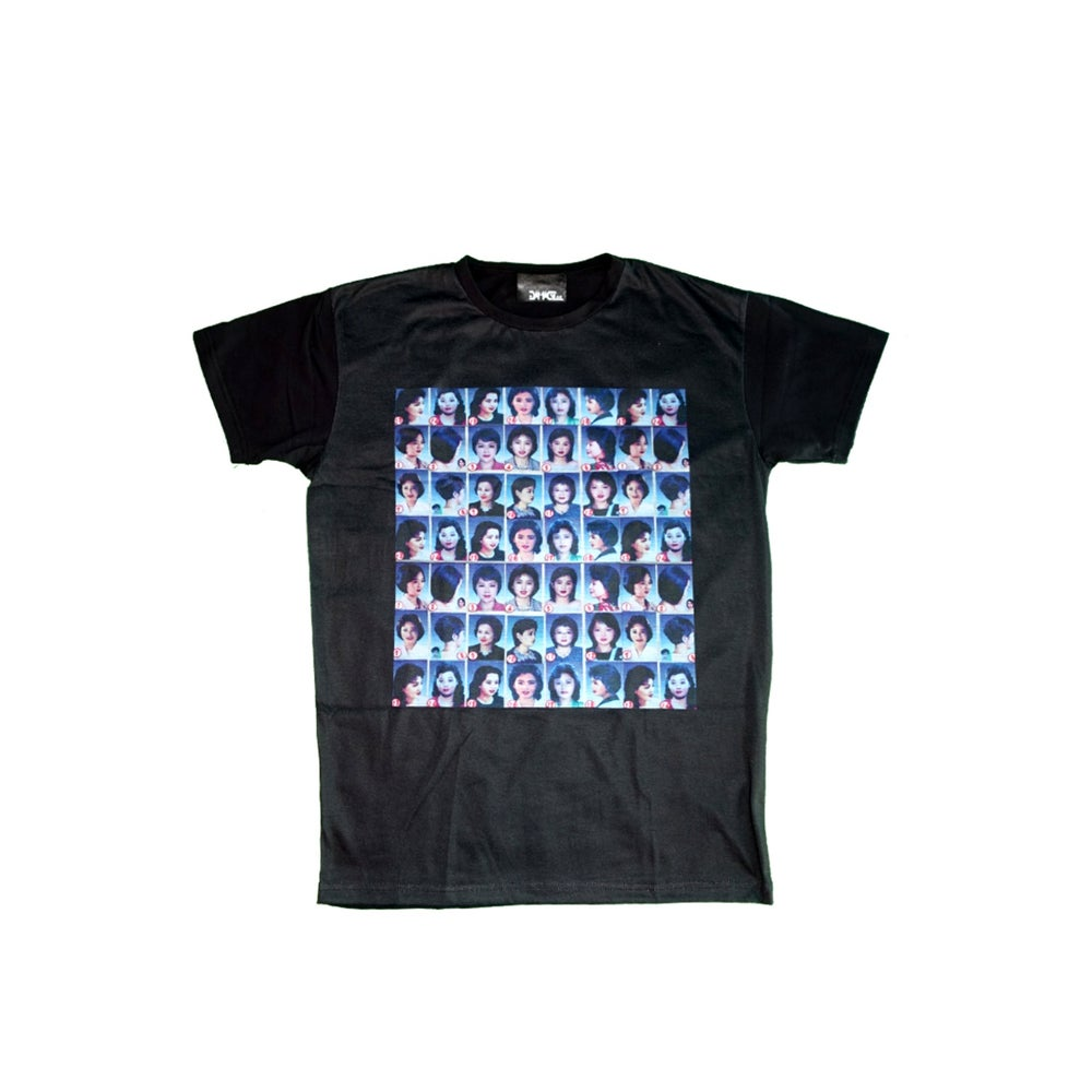 Image of DVMVGE Hair Style chart Tee (Pre-order)