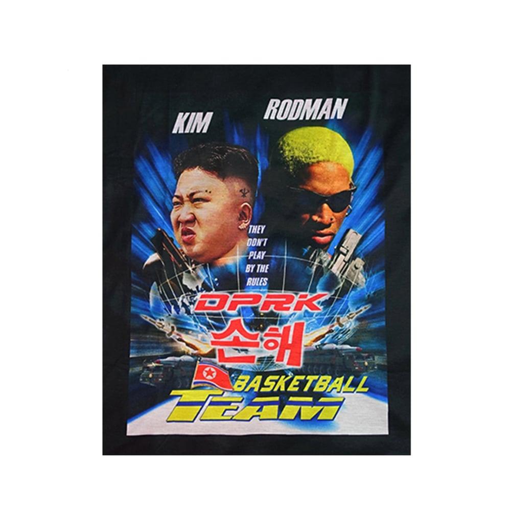 Image of DVMVGE PyongYang' KIM x RODMAN Tee (Pre-order)