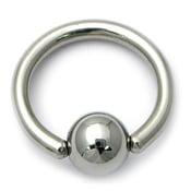 Image of Ball Closure Rings - BCR - Captive Ball Rings - Tension Rings
