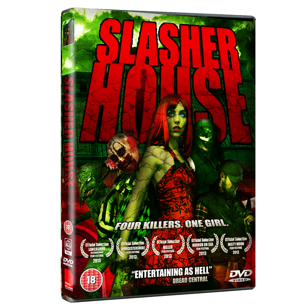 Image of SLASHER HOUSE - UK DVD