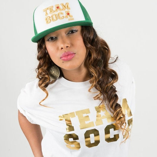 Image of Men & Women Team Soca T-Shirts Limited Gold Edition