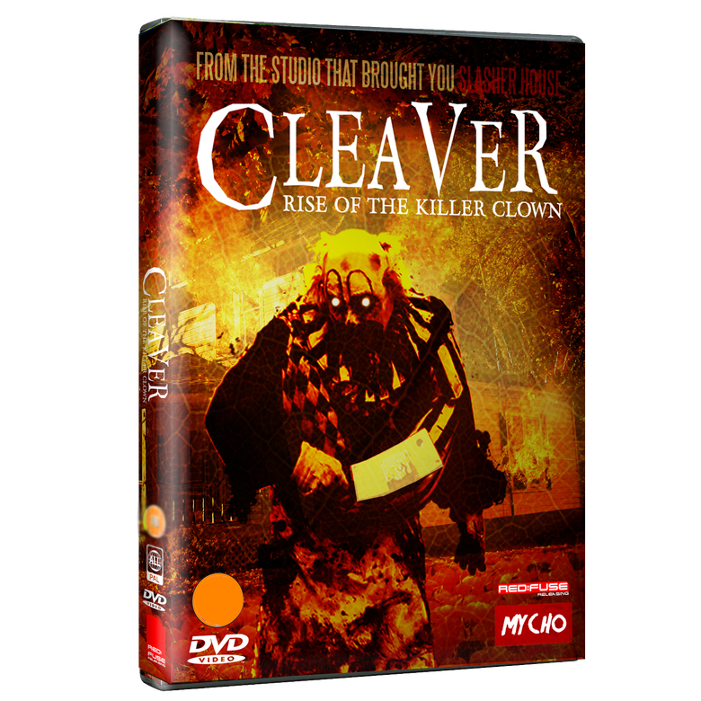 Image of CLEAVER : KILLER CLOWN - REGION FREE DVD