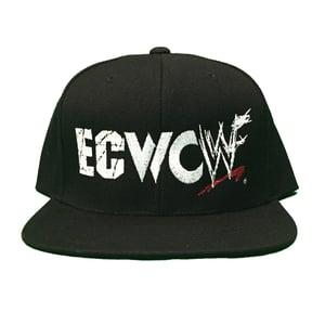 Image of ECWCWWF LOGO SNAPBACK