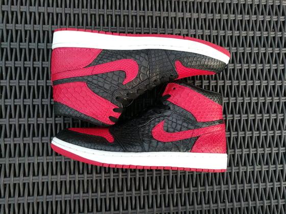Image of Jordan 1 Bred Full Python