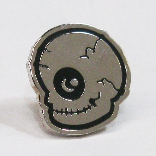 Image of Eyeskull Enamel Lapel Pin
