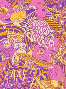 Image of Claypool Lennon Delirium Purple Variant