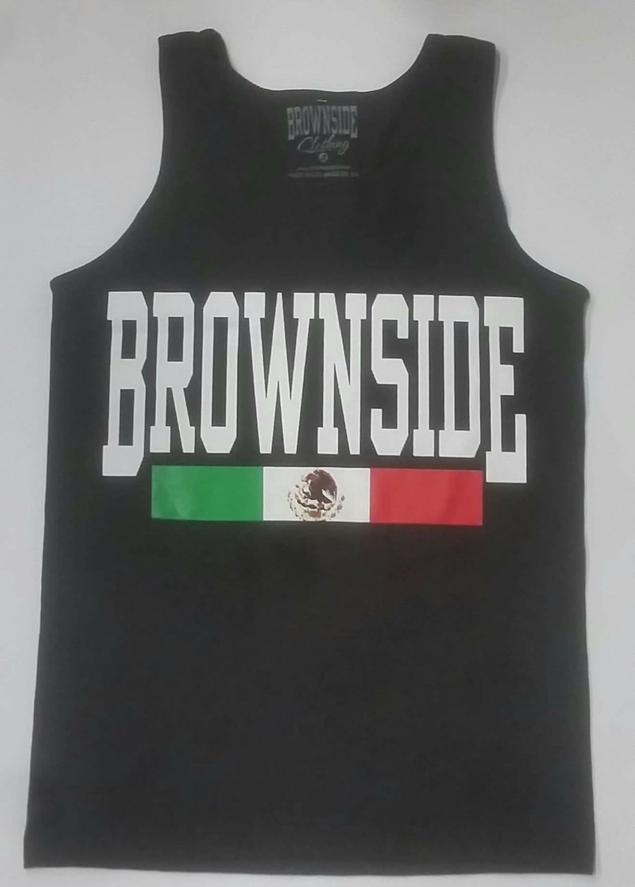 Image of Brownside Logo Men's Tank Top