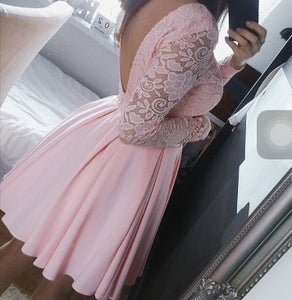Image of HOT PINK WHITE LACE DRESS