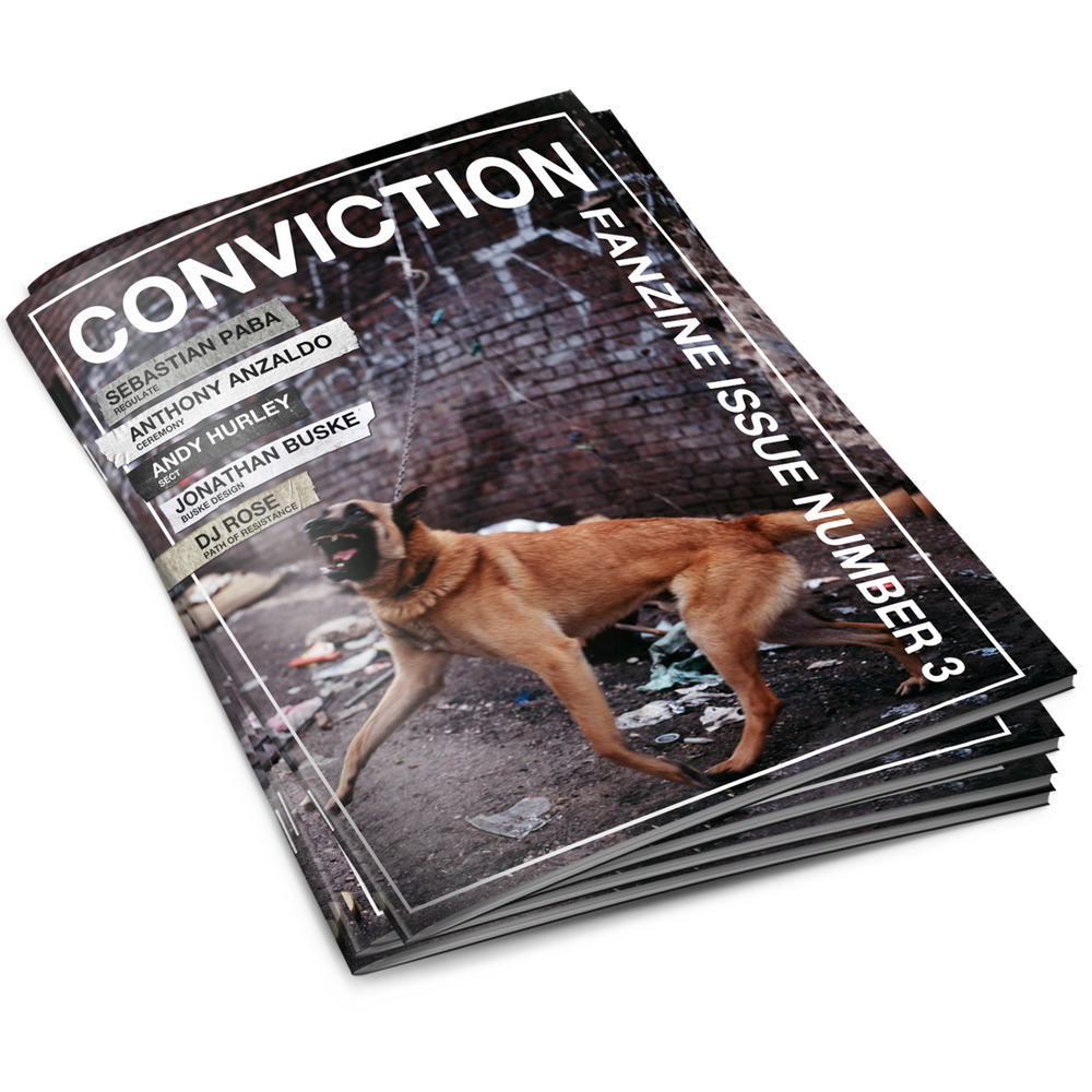 Image of Conviction Fanzine - Issue 3