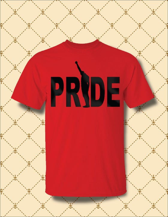 Image of MEN'S BLACK PRIDE TSHIRT