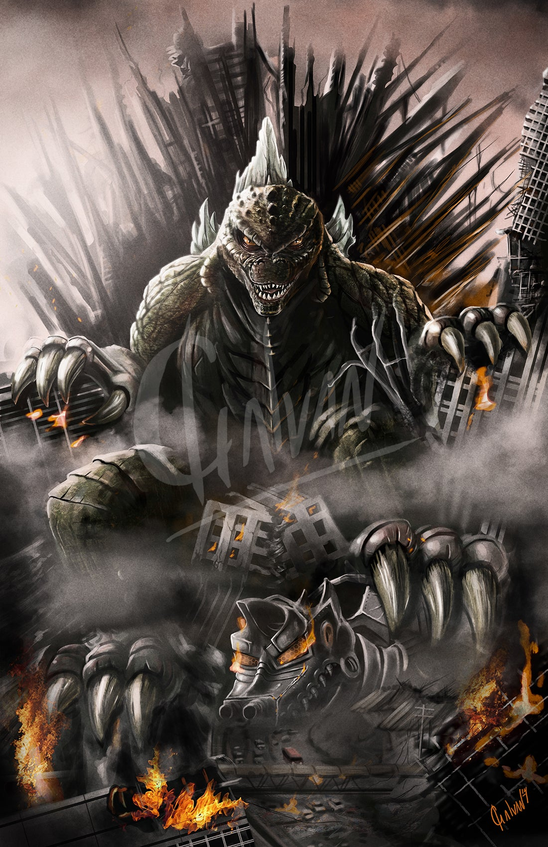 Image of The King of Thrones