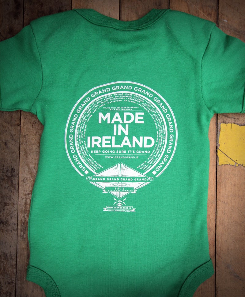 Image of 'FECK IT SURE IT'S GRAND' Babby-wear