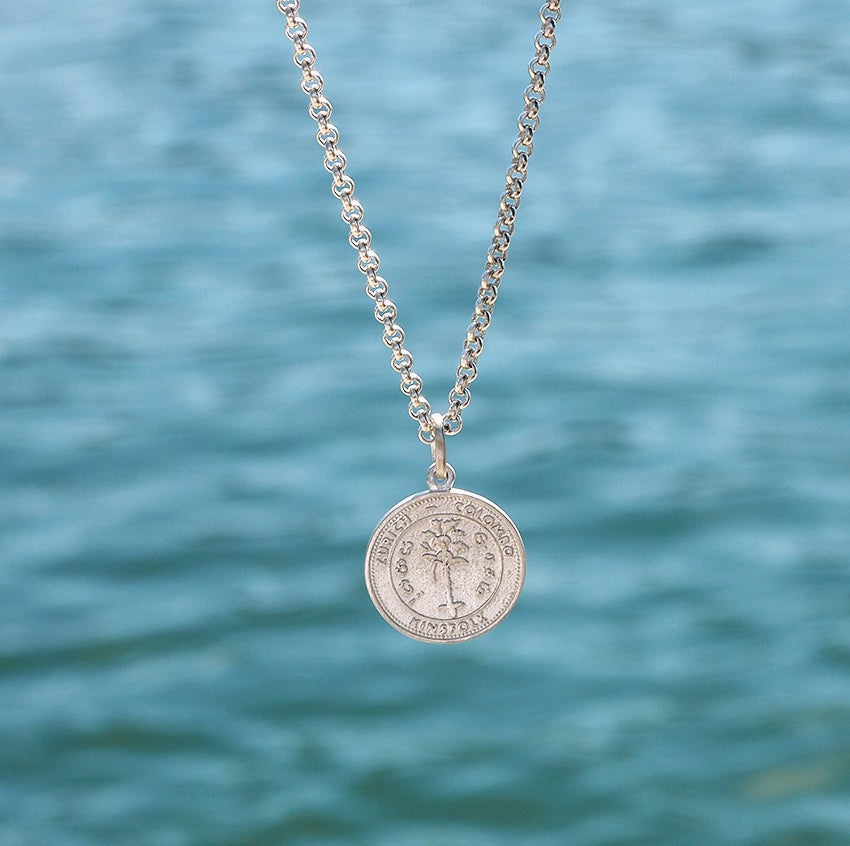 Image of Coin Necklace Silver