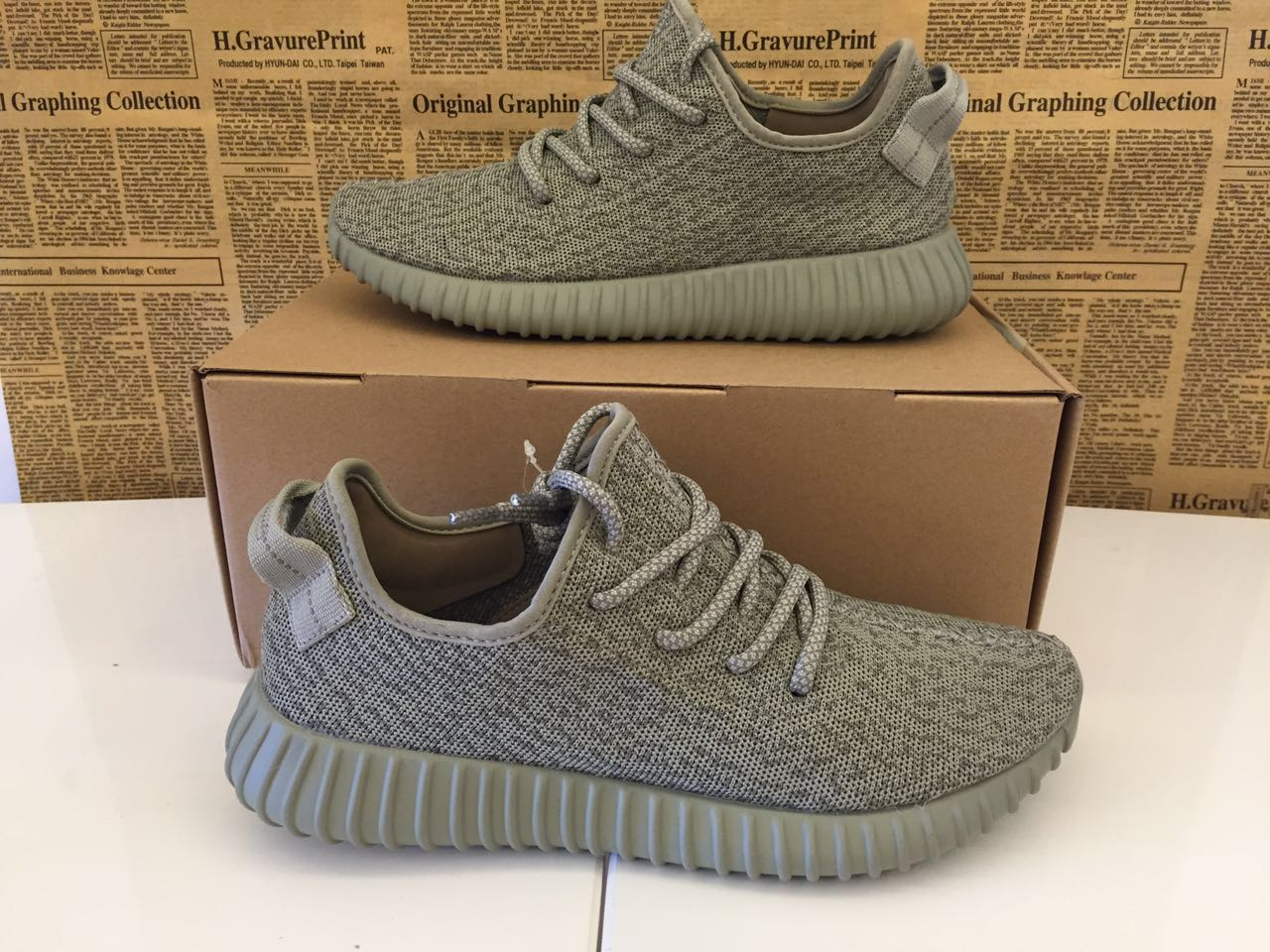 huge selection of ce46a 85c61 Authentic Yeezy Boost 350 Moonrock