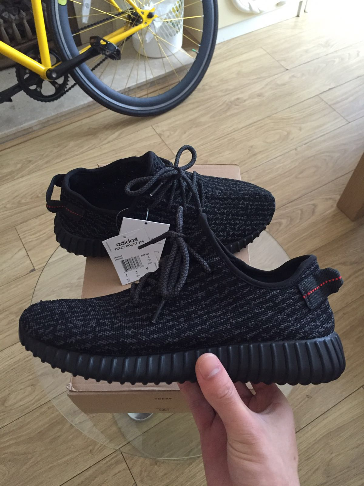 new concept 50c8c 1ae4a Authentic Yeezy Boost 350 Pirate Black
