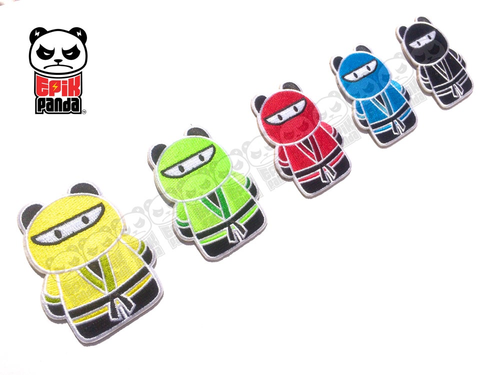 Image of Ninja Panda STICKERS (Limited Edition)