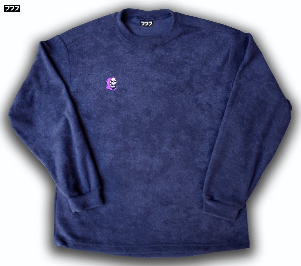 Image of TERRY CLOTH SKELE-TOR SWEATER