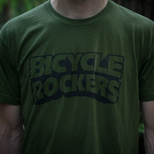 Image of Classic   T-Shirt   Army Green/Black