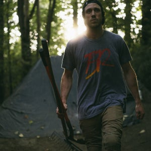 Image of The Lost One |T-Shirt | Grey/Sunset Fade