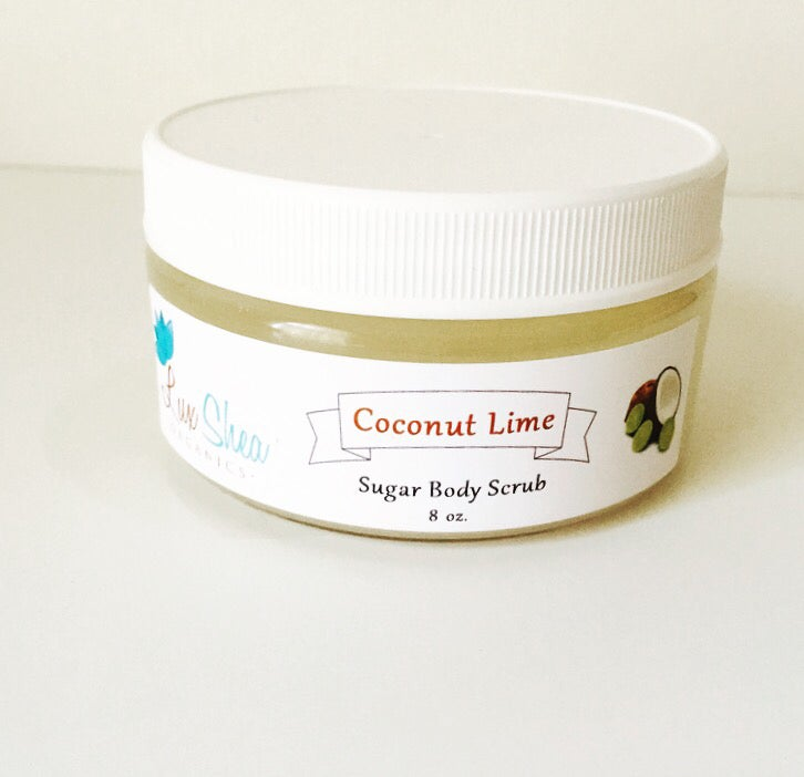 Image of Coconut Lime Sugar Scrub
