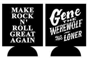 Image of Gene The Werewolf Koozie