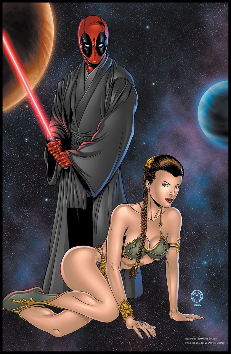 Image of Sith Pool Print