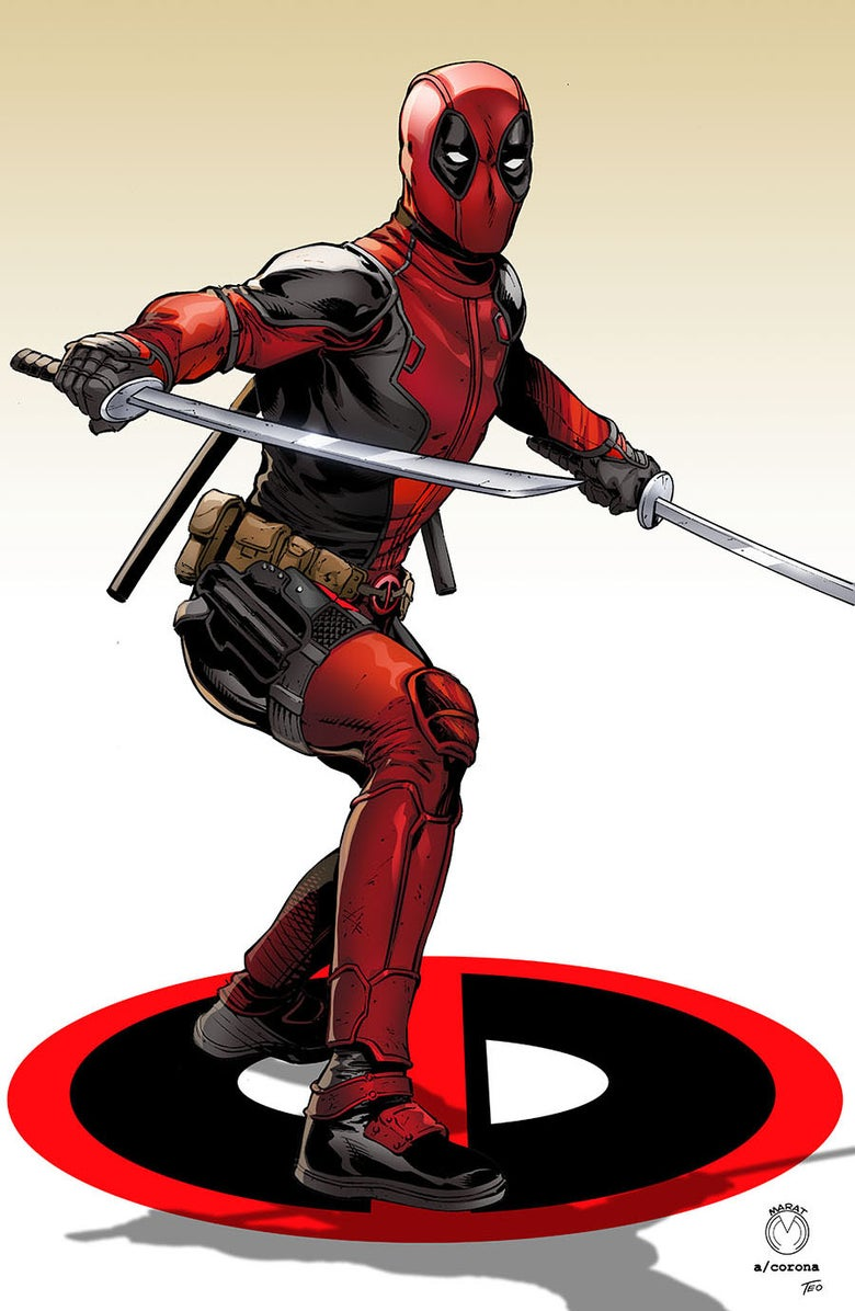 Image of Deadpool Print 2
