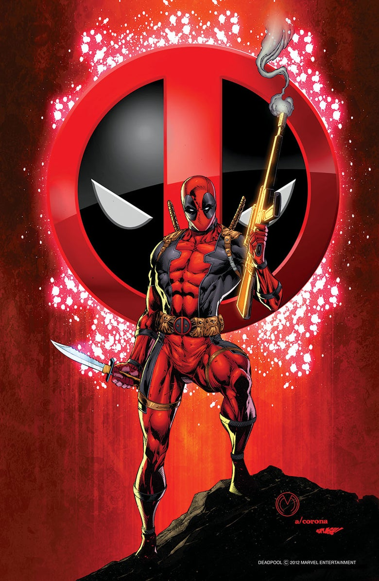Image of Deadpool Print 1