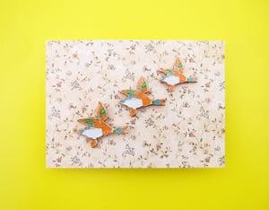Image of Flying Ducks Lapel Pin Set
