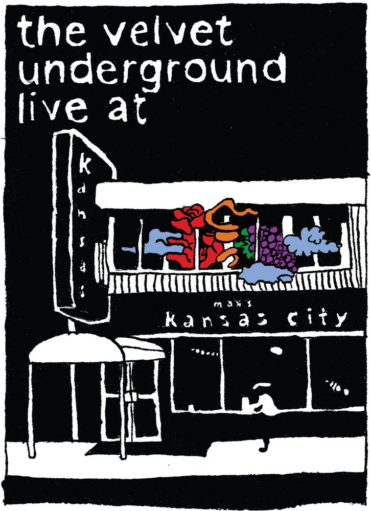Image of The Velvet Underground Mini-Comic