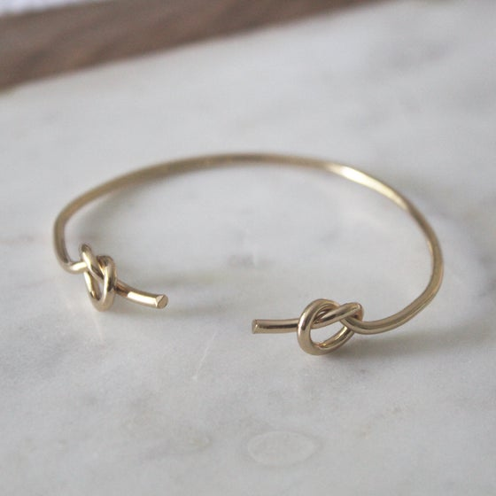 Image of Double Knot Cuff