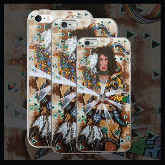 Image of 'Oh My Goddess' iPhone Case