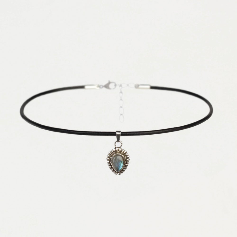 Image of LUNA | Sterling Silver Choker