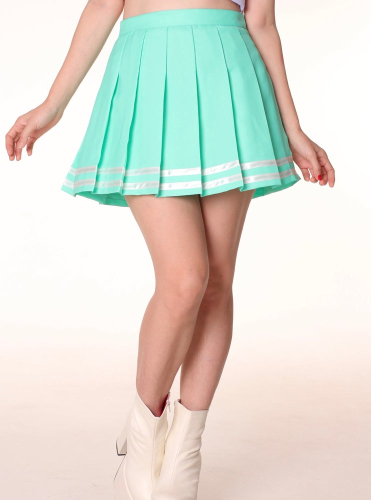 Image of Mint Cheerleading Skirt