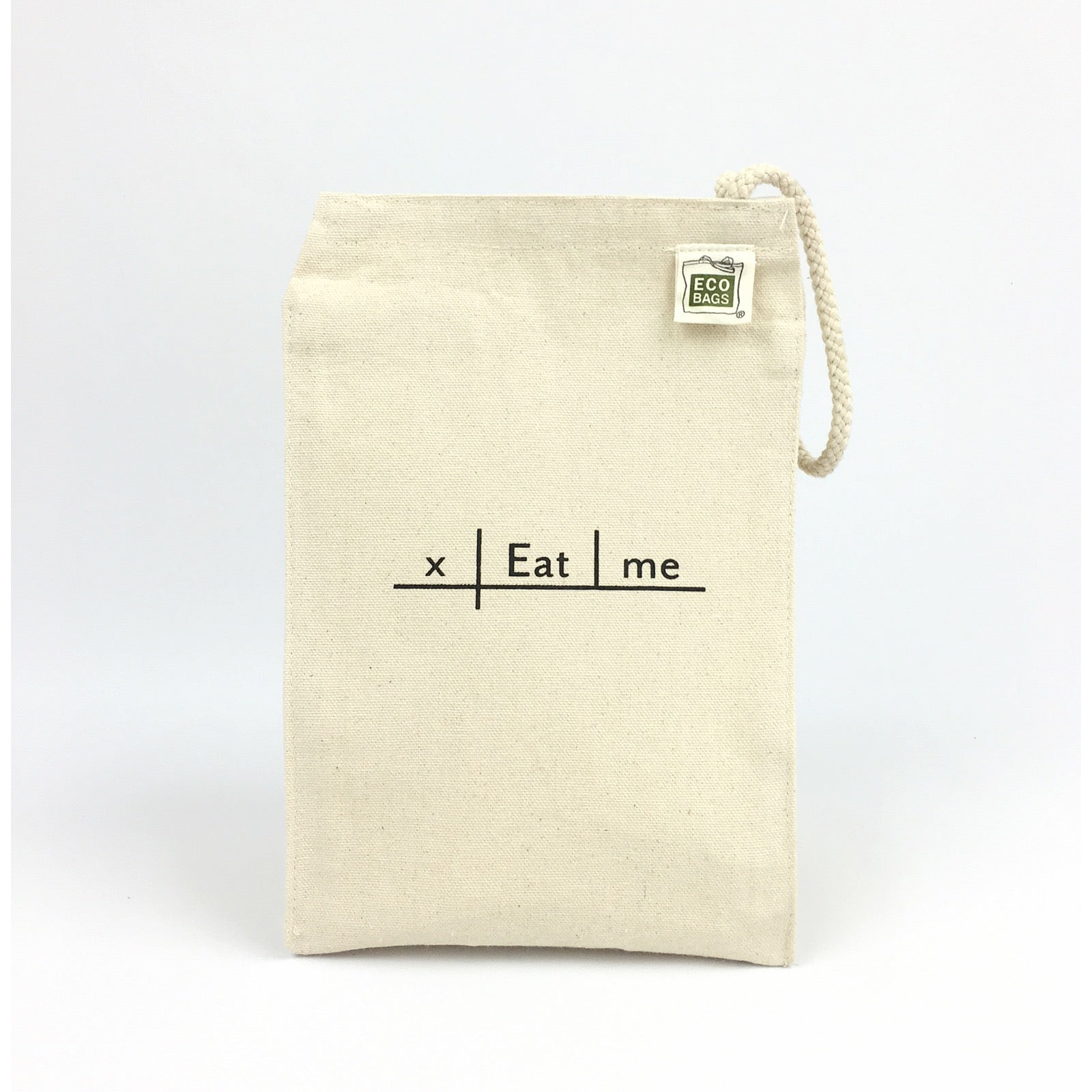 Diagrammers anonymous eat me lunch sack with imperative sentence image of eat me lunch sack with imperative sentence diagram 100 recycled cotton canvas ccuart Gallery