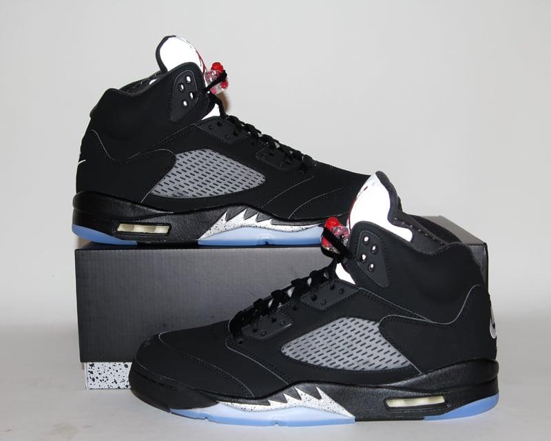 Image of Air Jordan 5 (V) Retro OG Black Metallic