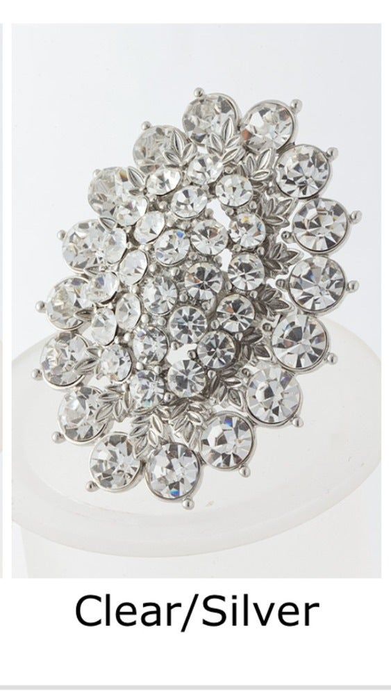 Image of Princess Crystal Cluster Ring
