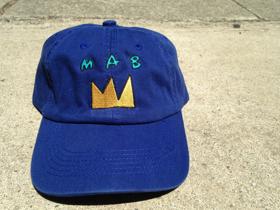 Image of MAB GOLD CROWN DAD CAPS