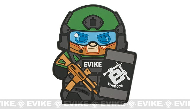 Image of Evike X Epik Panda Matt Patch (Custom)