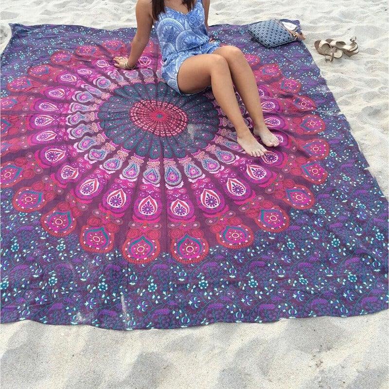 Image of Sangria Mandala Tapestry