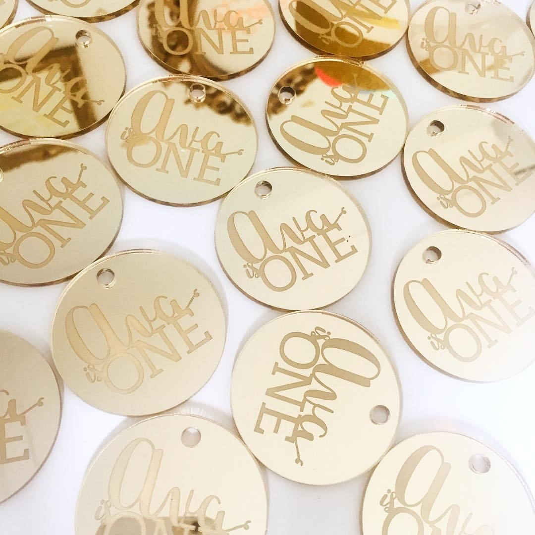 Image of Custom Tags (min. order of 12 pieces)
