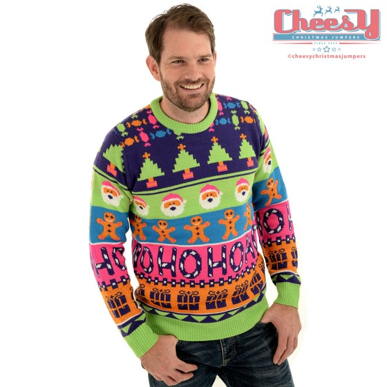Image of Sweet Mashup Christmas Jumper - Unisex
