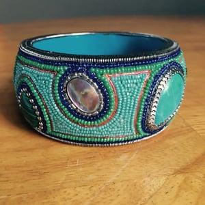 Image of Turquoise Mosaic Bangle